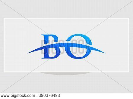 Bo Initial Based Letter Icon Logo. Bo Logo Design