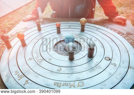 Geocentric System Of World - The Central Position In The Universe Is Occupied By A Stationary Earth,