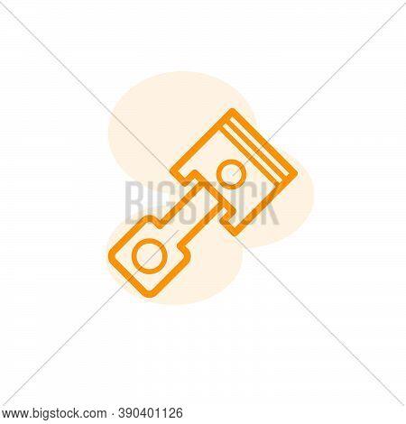 Piston Icon Vector Design Template