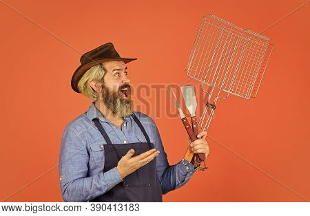 Barbecue. Grilling Food. Picnic And Barbecue. American Picnic. Family Tradition. Cooking Meat. Sprin