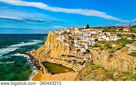 Azenhas Do Mar, A Town At The Atlantic Ocean - Sintra, Portugal