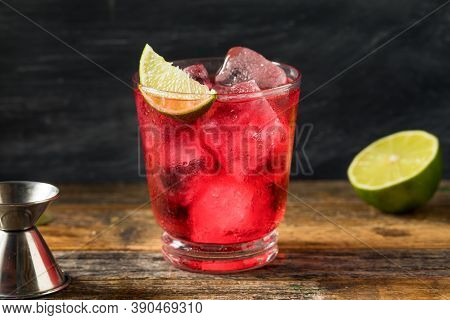 Refreshing Boozy Vodka Cranberry Cocktail