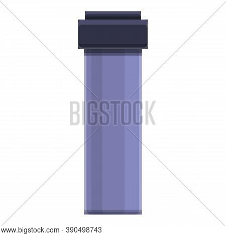 Trainer Bottle Icon. Cartoon Of Trainer Bottle Vector Icon For Web Design Isolated On White Backgrou