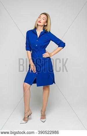 Attractive Woman In Nice Outlook. Lookbook Concept.