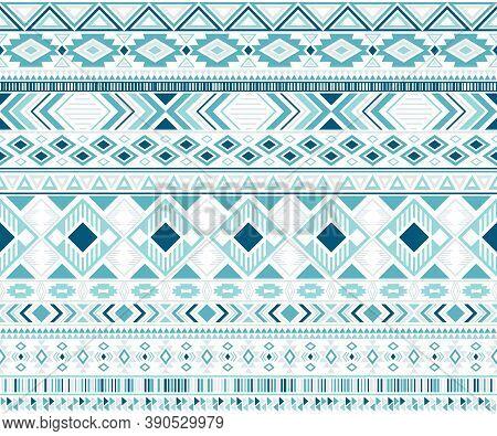Sacral Tribal Ethnic Motifs Geometric Seamless Background. Graphic Gypsy Tribal Motifs Clothing Fabr