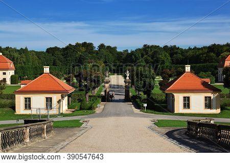 Moritzburg, Saxony, Germany - 08 Sep 2015: The Park In Moritzburg Schloss In Germany, Saxony