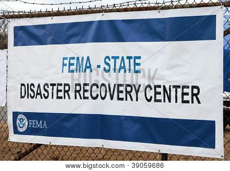 FEMA-Desaster-Recovery-Zentrum
