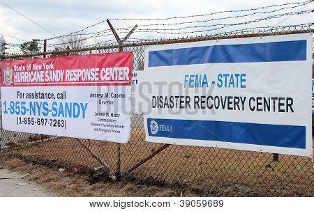 FEMA-Disaster-Recovery-Zentrum