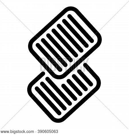 Files Scenario Icon. Outline Files Scenario Vector Icon For Web Design Isolated On White Background
