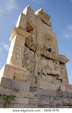 Philopappos Monument Near Acropolis