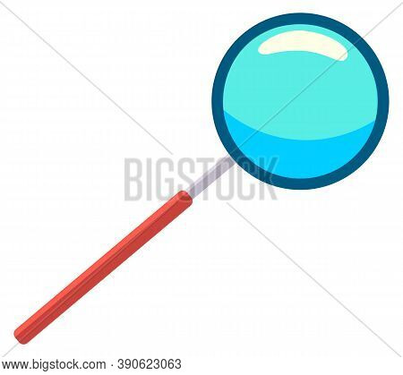 Magnifying Glass Icon. Loupe Sign. Concept For Finding People To Work For The Organization. Business