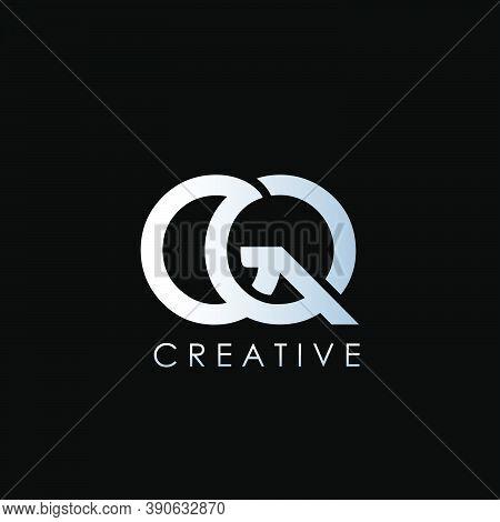 Gq Logo Letter. Vector Graphic Branding Initial Letter Element Template Design..