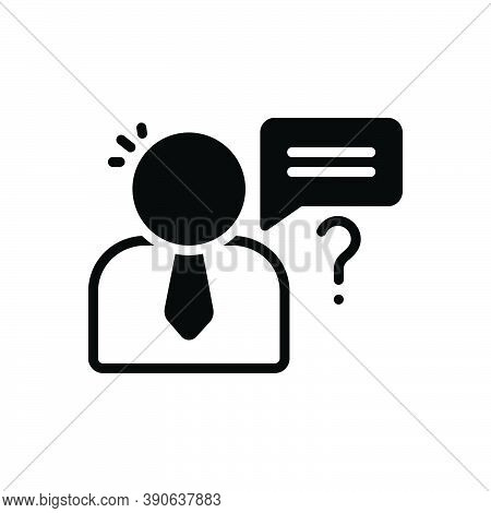 Black Solid Icon For Perceive Understand Deem Comprehend Perceive Think Know