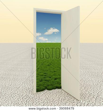 Door In The Desert