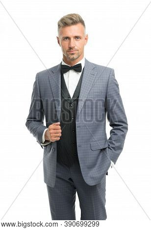 Tailored Suit. Fashion Shop. Rent Suit Service. Elegant Fashion Outfit For Event. Gentleman Modern S