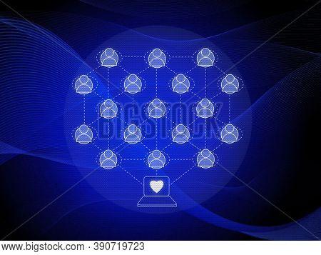Technology Background. Modern Technology Background Design Concept. Modern Futuristic Blue Hi Tech B