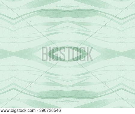 Green Seamless Zebra Pattern. Fashion Africa Background. Zoo Jungle Skin. Camouflage Lines Repeat. A