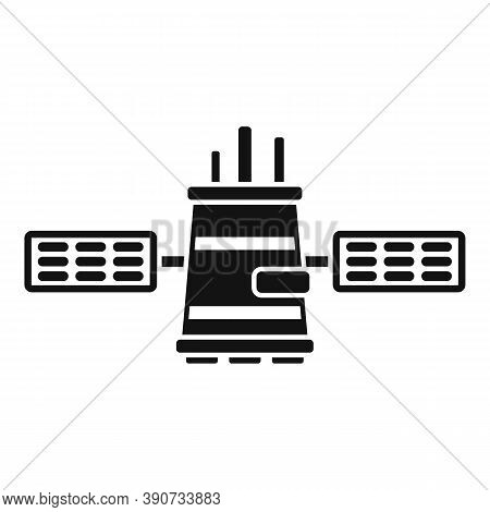 Network Satellite Icon. Simple Illustration Of Network Satellite Vector Icon For Web Design Isolated