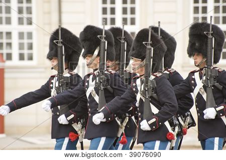 Denmark Royal Guard