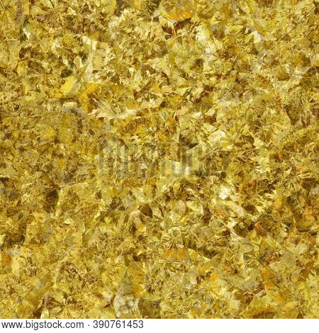 Seamless Texture Of Crystal Colorful Raw Gemstone. Nature Tile Jewelry Topaz, Glamour Background