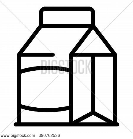 Lunch Pack Icon. Outline Lunch Pack Vector Icon For Web Design Isolated On White Background