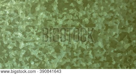 Khaki Texture Background. Watercolour Camouflage Uniform. Green Combat Fabric. Abstract Geometric Sh