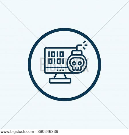 Hacker Icon Isolated On White Background From Man Worker Avatar Collection. Hacker Icon Trendy And M