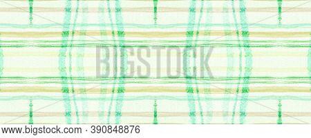 Green Plaid Pattern. Seamless Picnic Fabric. Gingham Shirt. Hipster English Blanket. Fall Plaid Patt