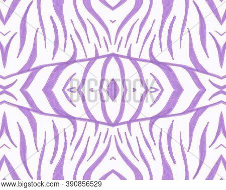 Tribal Background. Fashion Animal Print. Geometric Stripes. Safari Leather Design. Seamless Tribal O