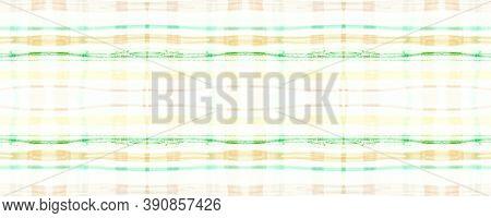 Green Plaid Pattern. Seamless Check Fabric. Checkered Design. Rustic Scotland Repeat. Fall Plaid Pat