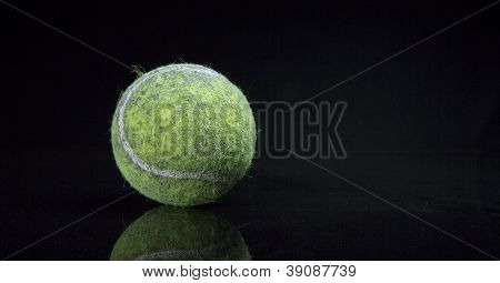 Dirty Old Tennis Ball