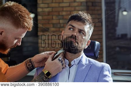 Hair Preparation Is Just For The Dashing Chap. Barber - Shaves And Trims. Beard Styling And Cut. Sha