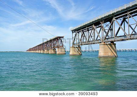 Bahia Honda Bridge in the Florida Keys