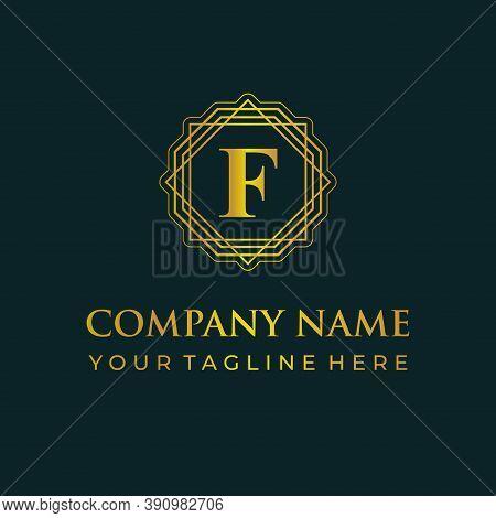 F Logo, F Design Logo, F Initial Logo, F Monogram Logo, F Luxurylogo, F Logo, F Creative Logo, F Ins