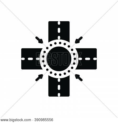 Black Solid Icon For Between Amid Betwixt In Mid In-the-middle Center