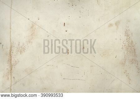 Old Gray Paint On Rusty Metal Texture Background