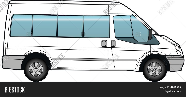 minibus bus template vector photo free trial bigstock