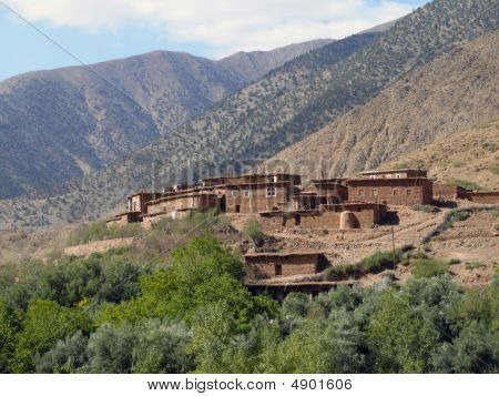 Village Atlas Mountains