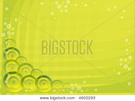 Abstract Green Image