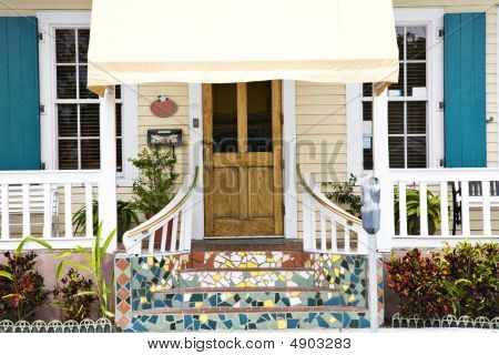 Colorful Home In Key West