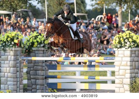 Equestrian Grand Prix - Sarah Baldwin Patries