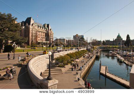 The Empress Hotel, Victoria, B.c., Canada