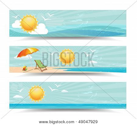 Summer Header Banners