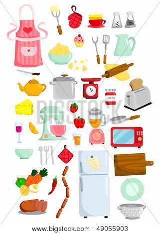 Kitchen Vector Set
