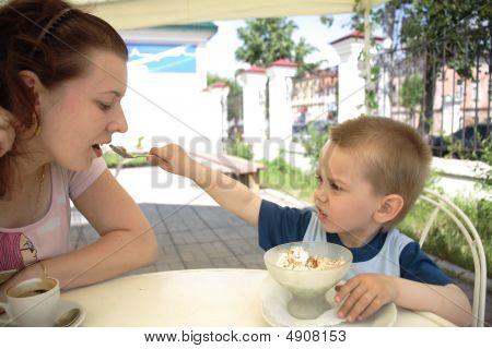 The Boy Treats Mum