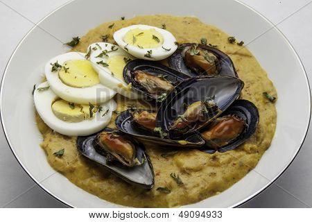 Mussels in Chili Sauce