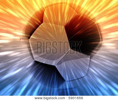 Soccer Ball Abstract