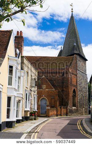 Maldon Essex backstreet