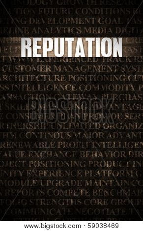 Reputation in Business as Motivation in Stone Wall