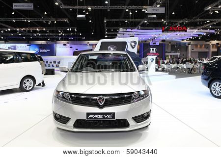 Nonthaburi - November 28: Proton Preve Car On Display At The 30Th Thailand International Motor Expo